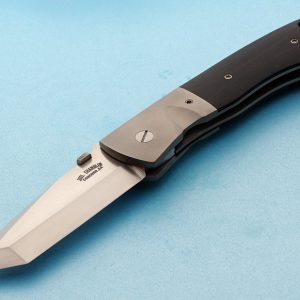 Joel Chamblin prototype folder folding custom knives Robertson's Custom Cutlery
