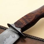 Mike Deibert bowie handle fixed custom knife