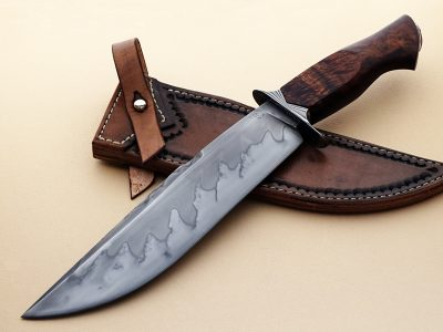 Mike Deibert ABS Journeyman Smith Award Winner bowie forged fixed custom knives