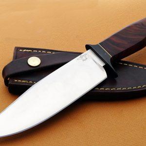 Mike Deibert ABS Journeyman Smith forged presentation fighter fixed custom knife