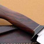 Mike Deibert fighter knife back fixed custom knives Robertson's Custom Cutlery
