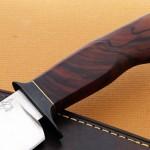 Mike Deibert fighter handle fixed custom knife