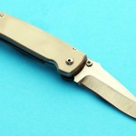 Larry Chew folder folding custom knife
