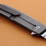 Leu Pohan folder clip folding custom knives