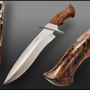 Tim Steingass fixed custom knives