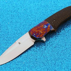 Jason Clark folder folding custom knives