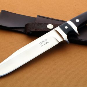 Edmund Davidson sub-hilt fighter knife fixed custom knives