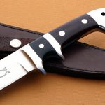 Edmund Davidson sub-hilt fighter handle fixed custom knife