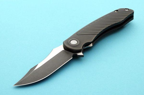 Brian Nadeau cyclone folder folding custom knife