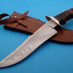 Tim Steingass wildwood knife fixed custom knives Robertson's Custom Cutlery