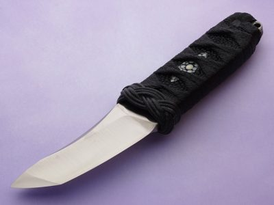 RJ Martin wasabi custom knives