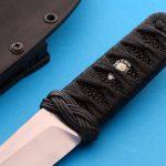 RJ Martin wasabi handle fixed custom knives
