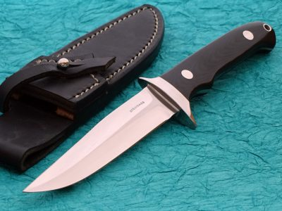 TIm Steingass fighter fixed custom knives