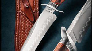 Ben Breda ABS Journeyman Smith presentation forged bowie fixed custom knife