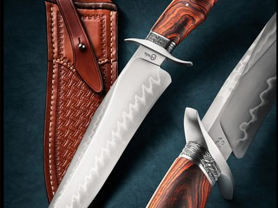 Ben Breda presentation bowie fixed custom knife