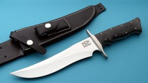 Walter Brend Tactical Fighting Knife Custom Fixed Blade