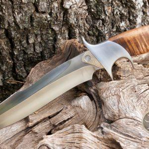 David Broadwell fighter fixed custom knife