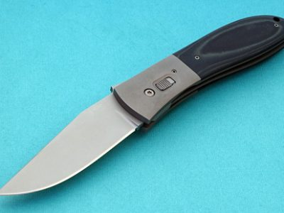 Kit Carson model folder folding custom knives