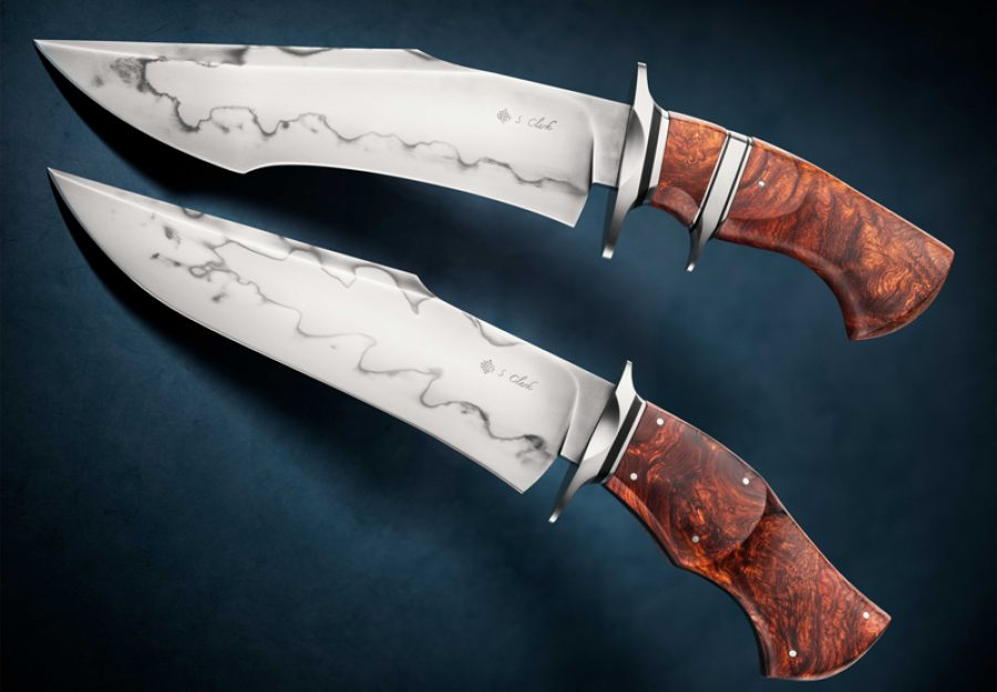 Spencer Clark Brute Bowie Custom Forged Knife