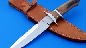 Schuyler Lovestrand F1 Subhilt Fighter Mastodon Ivory Custom Knife