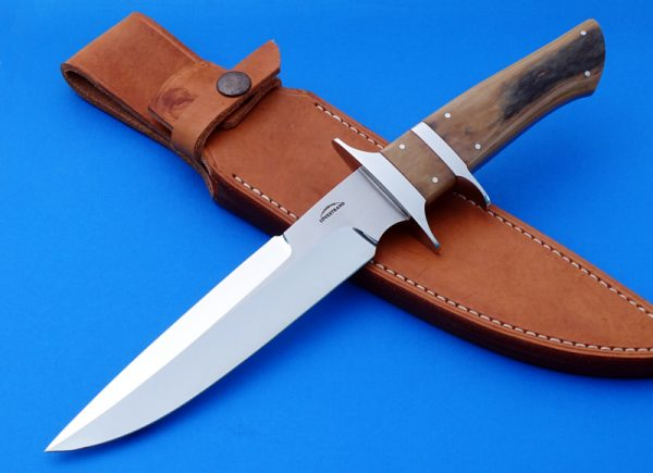 Schuyler Lovestrand F1 Subhilt Fighter Mastodon Ivory Custom Knife