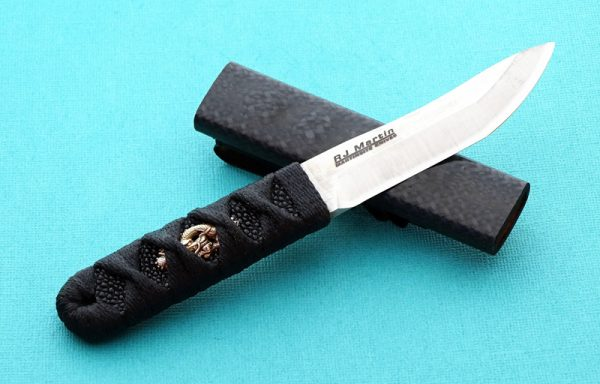 RJ Martin Kozuka Dragon fixed custom knife
