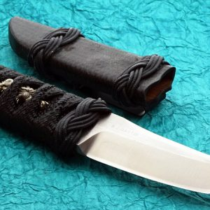 RJ Martin Custom Knife, Tactical Fighter Kwaiken, Japanese Manuke, Tanto tactical fixed