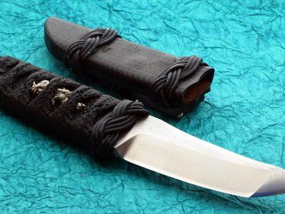RJ Martin Custom Knife, Tactical Fighter Kwaiken, Japanese Manuke, Tanto tactical fixed