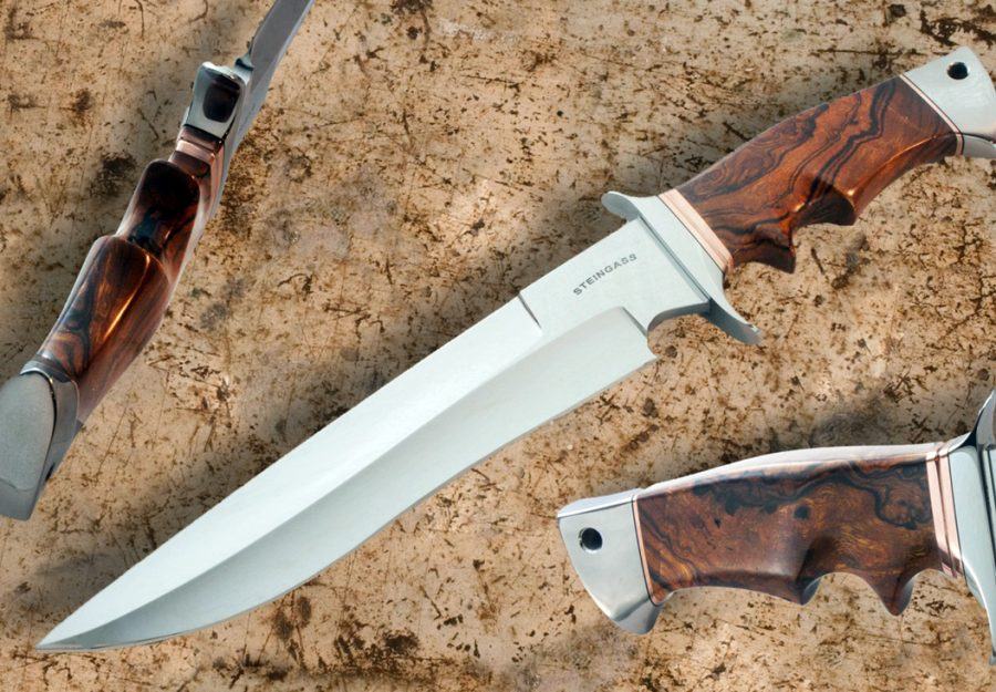 Tim Steingass presentation fixed custom knives