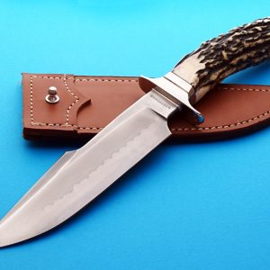 Tim Steingass bowie fixed custom knife