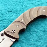 Brian Tighe tactical folder handle folding custom knives