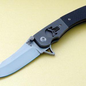 Will Zermeno Punisher Azrael Tactical Folding Knife Flipper Opener Titanium