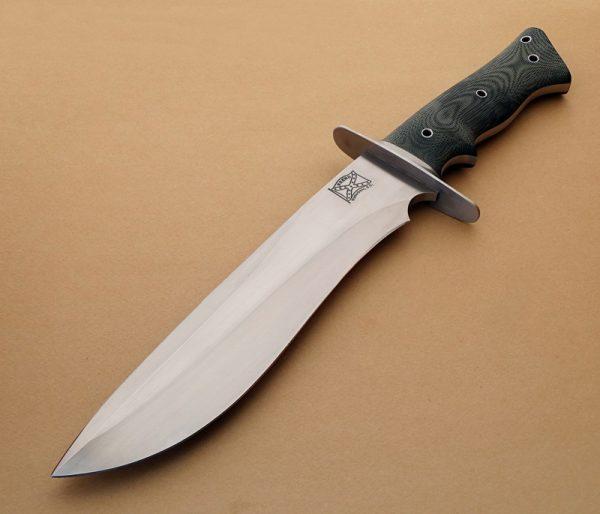 Walter brend vanguard fixed custom knife Robertson's Custom Cutlery