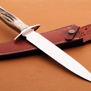 Walter brend presentation fixed blade fixed custom knives Robertson's Custom Cutlery