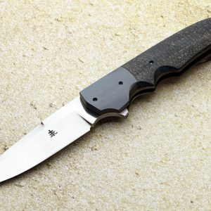 Jason Clark folder folding custom knives Robertson's Custom Cutlery
