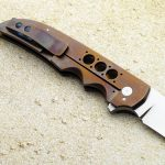 Jason Clark folder clip folding custom knives