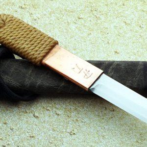 Phill Hartsfield neck knife fixed custom knives