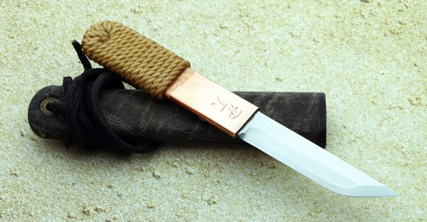 Phill Hartsfield neck knife fixed custom knives