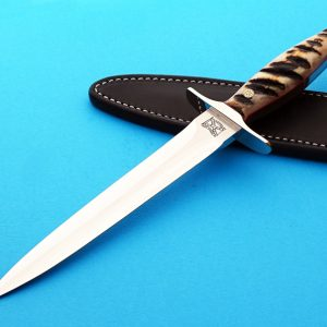 Walter Brend presentation dagger fixed custom knife