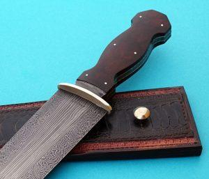 Tim Hancock fixed custom knife