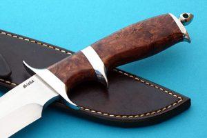 Jim Siska fighter fixed custom knives