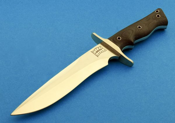 fixed custom knives Walter Brend 8 Model 2 TN knife back Robertson's Custom Cutlery tactical fixed blade