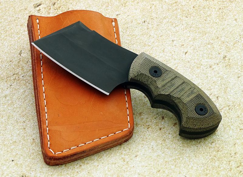 Charlie Edmondson, Elite Knives, Pocket Cleaver, Utility, Black finish