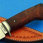 fixed custom knife Josh fisher di hunter knife handle Robertson's Custom Cutlery hunters & skinners fixed blade