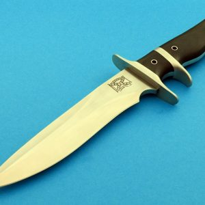 fixed custom knife Walter Brend Model 2 SHF AL knife Robertson's Custom Cutlery tactical fixed blade