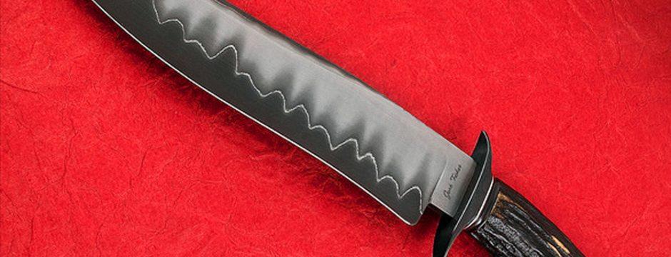 Josh Fisher San Mai Best Blade Show Fighter 2018 fixed custom knives Robertson's Custom Cutlery
