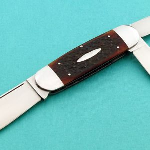 Bill Ruple 3 Bladed Elephant Toe Slip Joint Custom Folder folding custom knife Robertson's Custom Cutlery