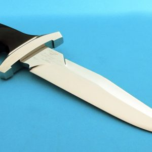 Rod Chappel Bicentennial Tactical Fighter Fighting Knife Serial #1 Handmade Custom Knife