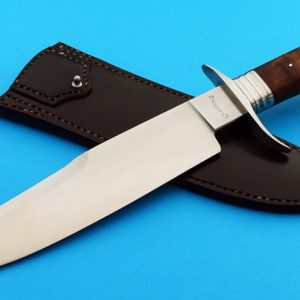 Russ Andrews II Forged Rampart Bowie ABS Master Smith Custom Handmade Knife