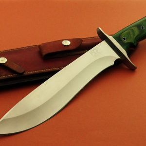 Brend Original Bushog Tactical Fixed Blade Serial #019 Custom Handmade Knife